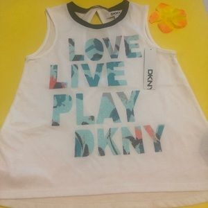 Nwt Dkny top for girl new